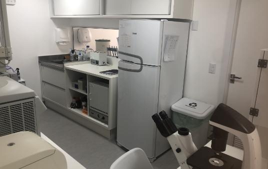 Laboratório da Biocelltis Biotecnologia, localizado em Florianópolis, Santa Catarina